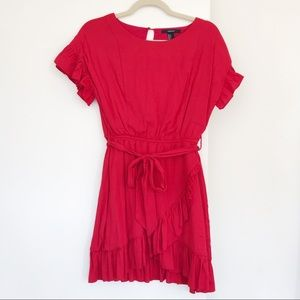 BRAND NEW! ❤️ Forever21 Red Ruffle Dress